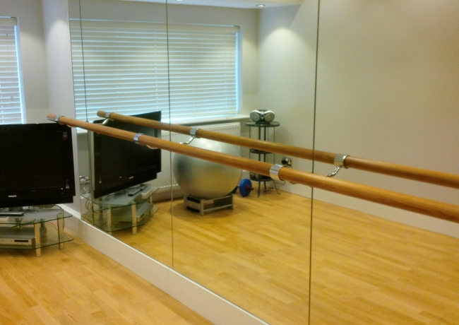 Dance Studio Ballet Barres Supplied And Installed By The