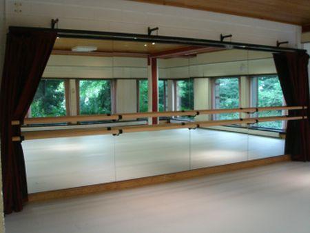 Ballet Barre Company Dance Studio Mirrors Gym Mirrors Mobile