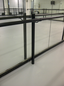 Sprung Floors And Wall Mounted Ballet Barres And Pilates Barres From