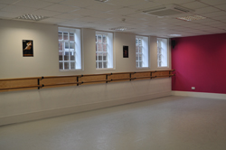 Sprung Floors And Wall Mounted Ballet Barres And Pilates